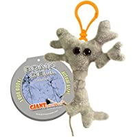 Microbi Giganti MINI - NEURONE Cellula celebrale con cappello di Laurea - Versione Portachiavi GIANTmicrobes Original