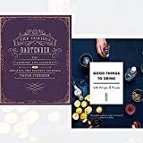 curious bartender, good things to drink with mr lyan and friends 2 books collection set - the artistry and alchemy of creating the perfect cocktail