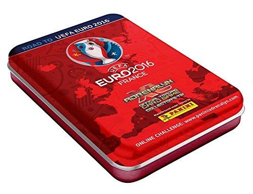 Panini Road to Euro 2016 - Sammler Metall Dose - Mini Tin