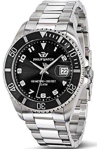 Philip Watch CARIBE R8253597008 - Orologio da Polso Uomo