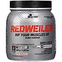 OLIMP Redweiler  Pre Workout 480 grams Blueberry Madness