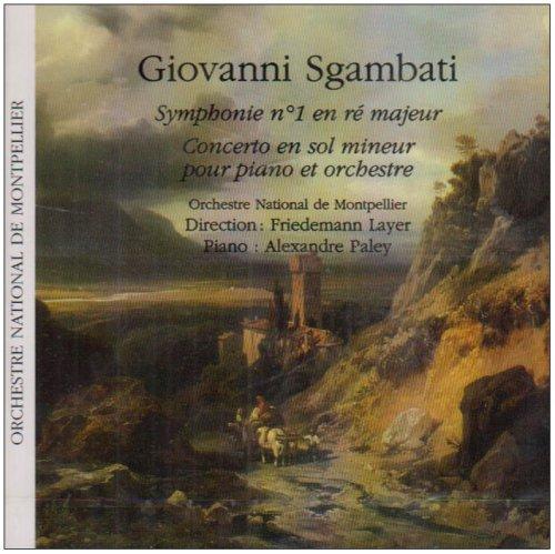 Sinfonie 1 d-Dur/Conc.C-Moll