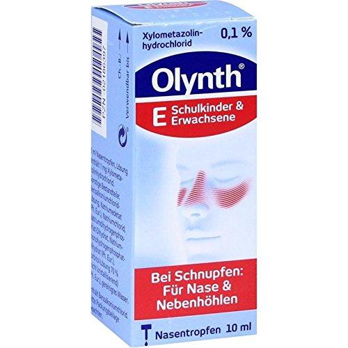 Olynth 0,1{929ff8a64b5eb47690bcf10013ac67ea53a0ed95a55f260694354a6ccac9e697} 10 ml