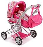 Knorr 61879 Kyra - Cochecito de bebé de juguete, color rosa