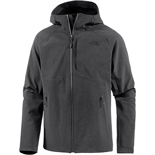 THE NORTH FACE Herren M Apex Flex GTX Jacket, grau (TNF Dark Grey/Hthr), L - Herren Jacke North Face Apex