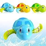 Guajave Bambini Bagnetto Giocattolo Carino Piccolo Tartaruga Galleggianti Animale Neonato Nuoto Giocattoli per Piscina Vasca Vasca da Bagno Spiaggia