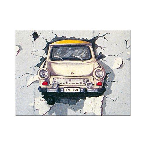 Nostalgic-Art 14047 Trabant - Trabant Wall, Magnet 8x6 cm