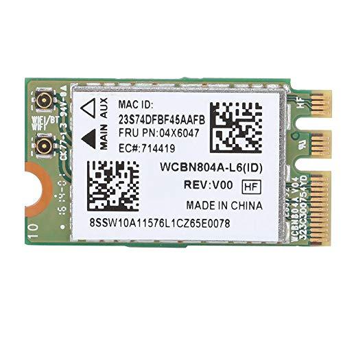 ASHATA Wireless Netzwerkkarte,2,4G/5G Dual Band Für Qualcomm Atheros QCNFA34AC WLAN Karte,867M Bluetooth 4.0 NGFF M2 Interface Netzwerkmodul Network Card für WIN7/WIN8/WIN10