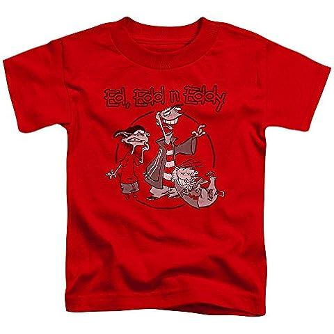Ed Edd N Eddy - - Los niños pequeños de la cuadrilla de la camiseta