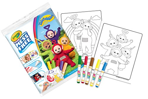 Crayola 75-2417.0054Teletubbies Farbe Wonder Bumper Pack - Crayola Magic Coloring Book