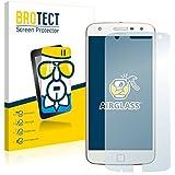 BROTECT AirGlass Protector Pantalla Cristal Flexible Transparente para Motorola Moto Z Play Protector Cristal Vidrio - Extra-Duro, Ultra-Ligero, Ultra-Claro
