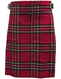 Tartanista - Kilt - tartan Royal Stewart - rouge