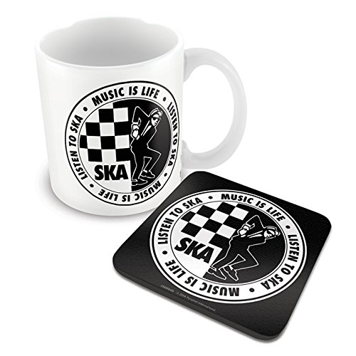 Ska Music Mug and Coaster Set