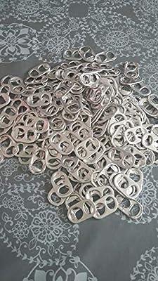 lot de 200 capsules de canettes de récupération - lavées et triées