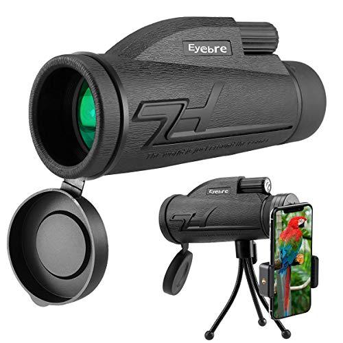 Telescopio Monocular, innislink 40x60 monocular HD Zoom Monoculares Telescopio con adaptador de teléfono...