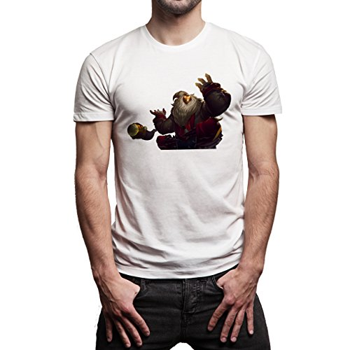 League Of Legends Fans Art Bard Herren T-Shirt Weiß