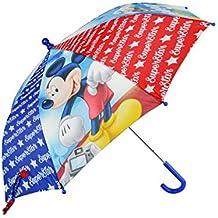 WD17496 Paraguas 57cm para niño con motivo de Mickey Mouse