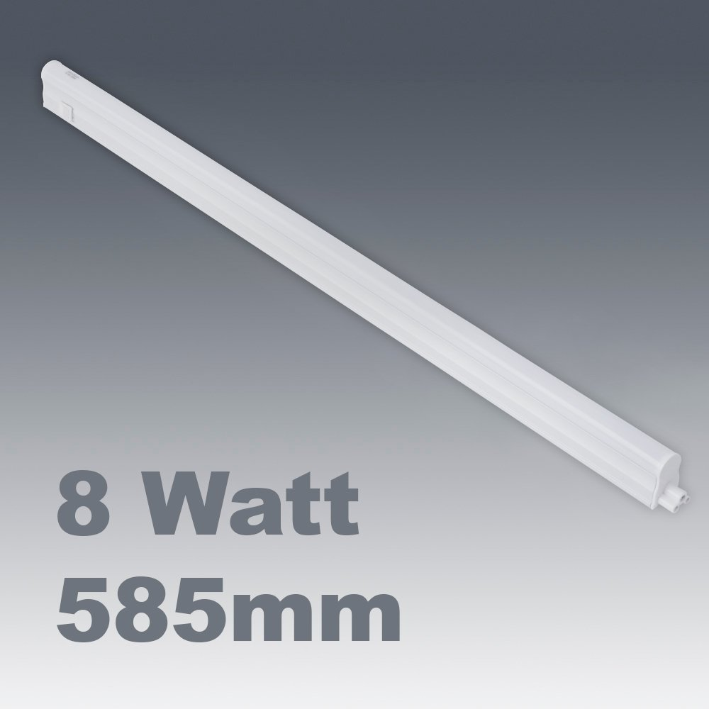 8w cool white led linkable under kitchen cupboard cabinet strip