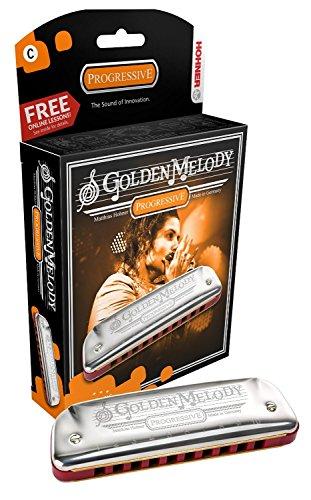 Mundharmonika HOHNER m542096Golden Melody Classic 20ab Lab -