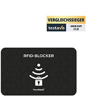 Tarjeta protectora de tarjetas RFID para prevenir el robo electrónico de datos. La tarjeta bloqueadora de tarjetas...