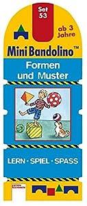 Arena Verlag GmbH Mini Bandolino Set 53. Formen und Muster: Lern - Spiel - Spass