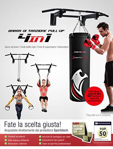 Zoom IMG-1 sportstech barra trazioni 4in1 ks300