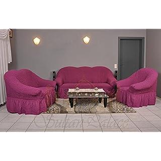 Stretch 2 Sitzer Bezug, 2 Sitzer Husse Aus Baumwolle U0026 Polyester. Sehr  Elastische Sofaueberwurf
