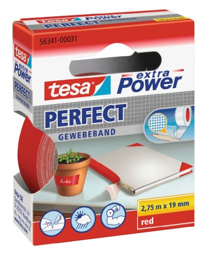 tesa-56341-00023-02-nastro-telato-19mm-x-2-75m-colore-rosso-confezione-da-10-pezzi