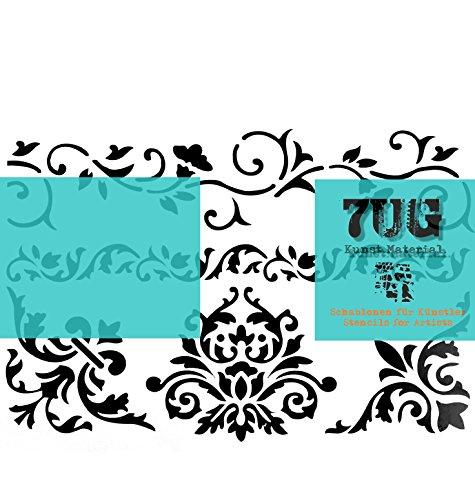 7UG Designer Schablone Renaissance Din A4