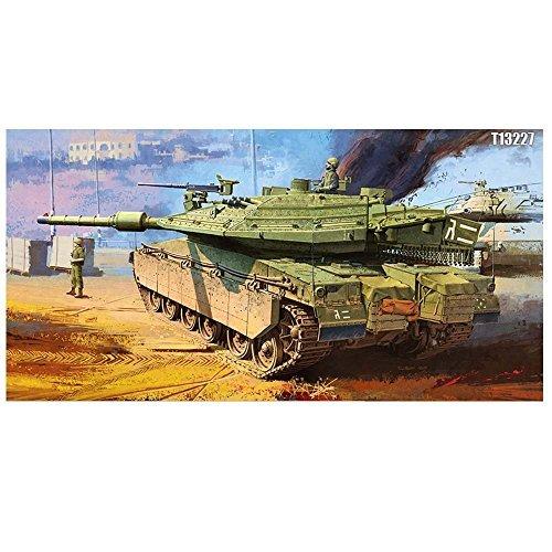 Academy 13227 MERKAVA Mk.IV LIC Armor Tank Plastic Model Kit by Academy Models