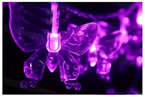 YARBAR 3M Papillon di Natale LED stringa