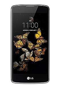 "LG K8 Smartphone, Display IPS 5.0"" HD, 4G LTE, Fotocamera 8MP con Frontale 5MP, Memoria Interna 8 GB, 1.5 GB RAM, Blu Indaco [Italia]"