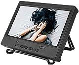 Bewinner 1024x600 Monitor Portatile da 7 Pollici, Ingresso Hdmi/Vga/Av, Supporto Display Multifunzione (EU)