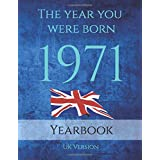 The Year You Were Born 1971: This 79 page A4 book is full of interesting facts and trivia over many topics including UK Event