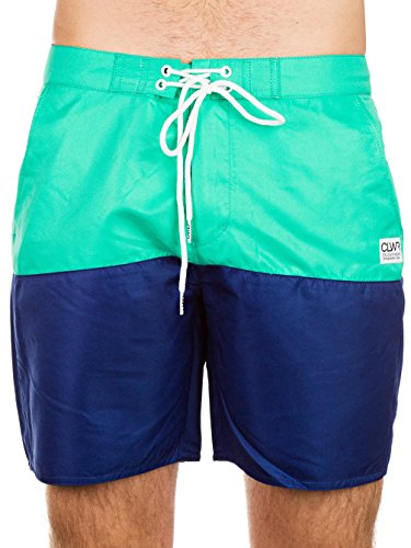 Herren Boardshorts Colour Wear Dip Trunk Boardshorts billiard