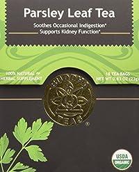 Parsley Leaf Tea - Organic Herbs - 18 Bleach Free Tea Bags