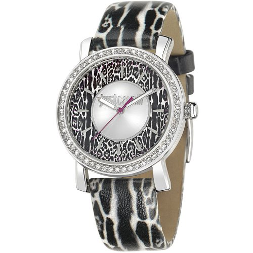 Just Cavalli Women's Quartz Watch with Multicolour Dial Analogue Display and Multicolour Leather Bracelet R7251595503
