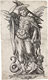 Das Museum Outlet–Der Erzengel Michael Gewicht souls. c.1523–Leinwanddruck Online kaufen (76,2x 101,6cm)