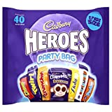 Cadbury Party Heroes Treatsize Packs, 567 g, Pack of 4