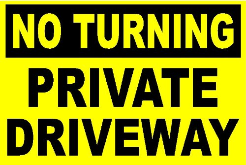 no-turning-private-driveway-bright-yellow-all-weather-rigid-sign-by-shire-oak-graphics-297x210x3mm