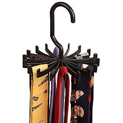 Tie Hanger Organiser - Black Color