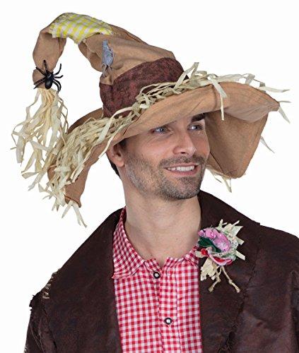 Kostüm Zubehör Hut Vogelscheuche Karneval (Vogelscheuche Kostüm Zubehör)
