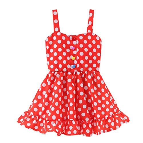 Prinzessin Kleid Mädchen Baby Pwtchenty Mädchen Kleider Festlich Farbe Gestreift Gewellt Babybekleidung Baby-Mädchen Prinzessin Kleid Festzug Partykleid