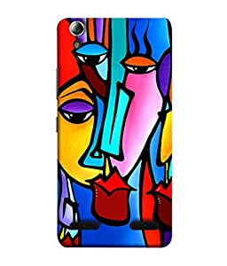 PrintVisa Designer Back Case Cover for Lenovo A6000 Plus :: Lenovo A6000+ :: Lenovo A6000 (Painting Modern Art Sexy Lip With Red Lipistick)