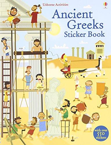 Ancient Greeks Sticker Book (Usborne Sticker Books) by Fiona Watt (1-Jun-2014) Paperback