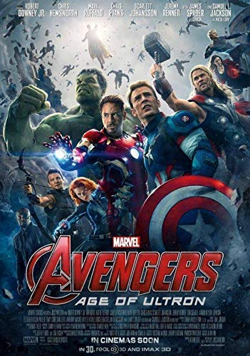 Generic Avengers: Age of Ultron Film Foto Poster Film Iron Man Captain America Endspiel 1 (A5-a4-a3) - A3