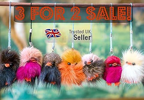 2 achetés 1 offert Furry Friends petits poussins en fourrure