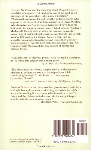 Selected Political Writings: The Prince, Selections from 'The Discourses', 'Letter to Vettori'