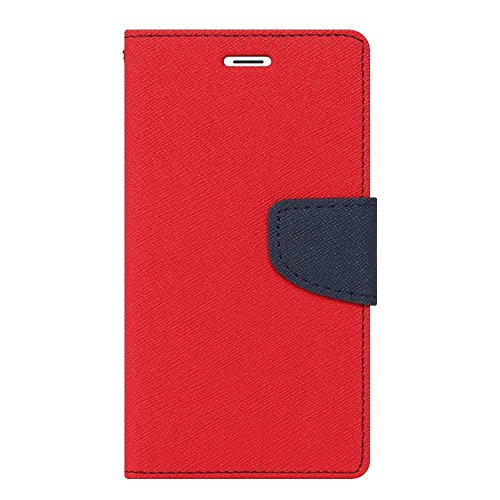 Novo Style Fancy Diary Wallet Flip Cover Case For Lenovo A7000 Red  available at amazon for Rs.222