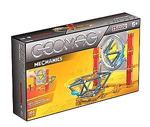 Geomag- Mechanics Construcciones magnéticas y Juegos educativos,, 164 Piezas (724)